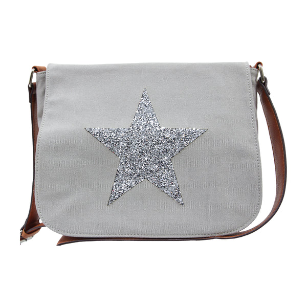 Star Crossbody Bag GREY