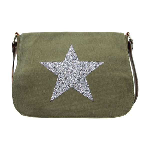 Star Crossbody Bag KHAKI