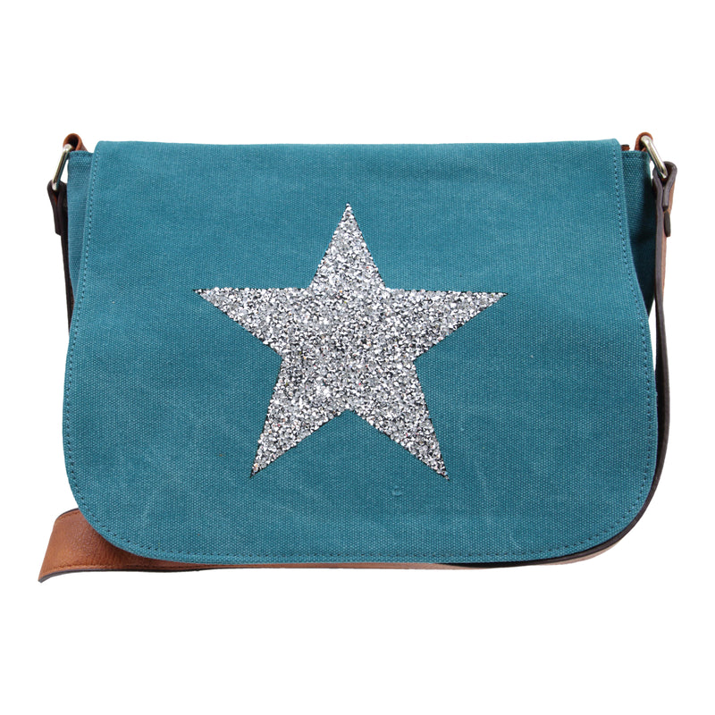 Star Crossbody Bag TURQUOISE