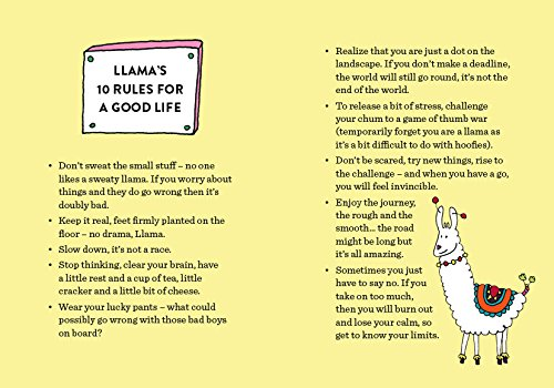 Be a Llama & Stay a Little Calmer