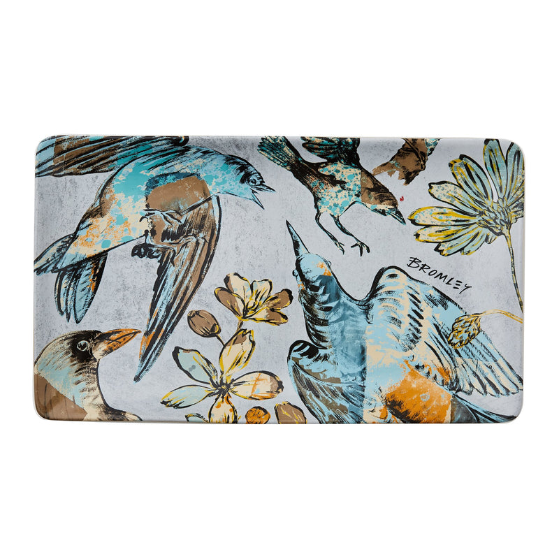 Rectangle Platter BROMLEY BIRD