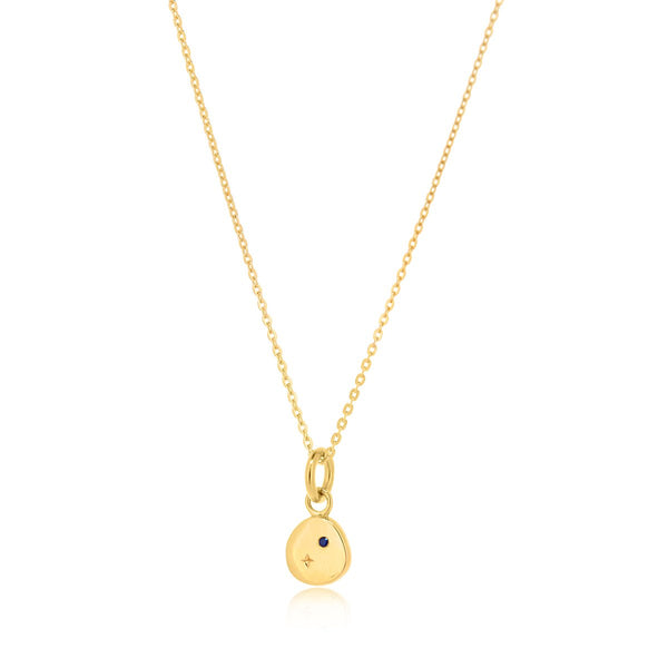 Mini Lunar Necklace - GOLD PLATED SS