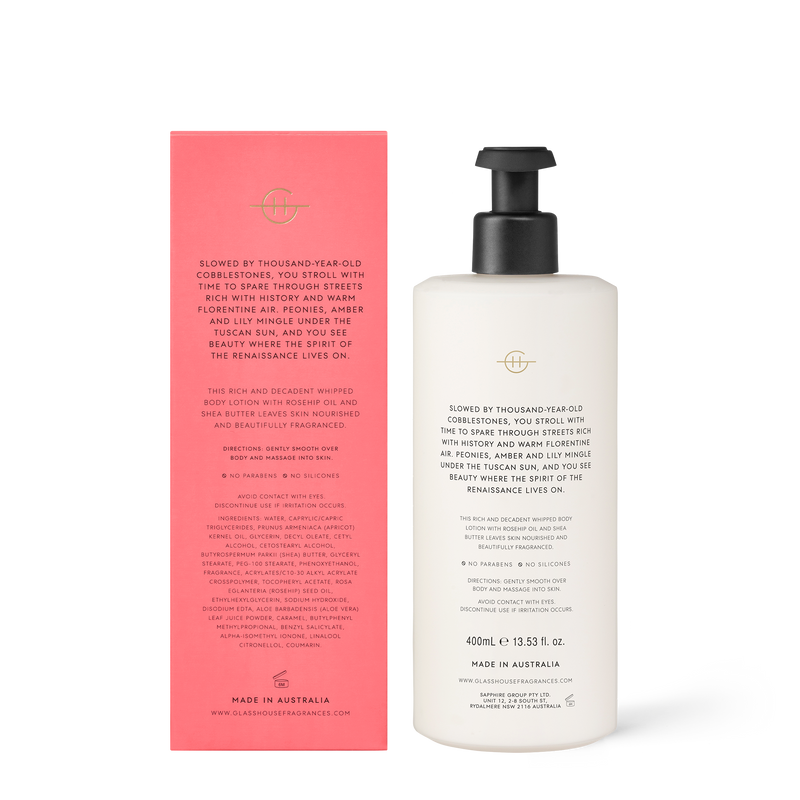 400ml Body Lotion FOREVER FLORENCE