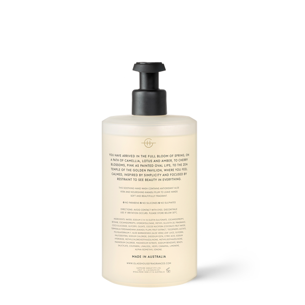 450ml Hand Wash KYOTO IN BLOOM