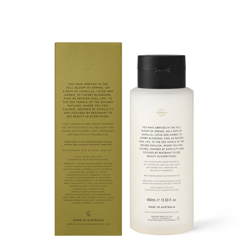 400ml Shower Gel KYOTO IN BLOOM
