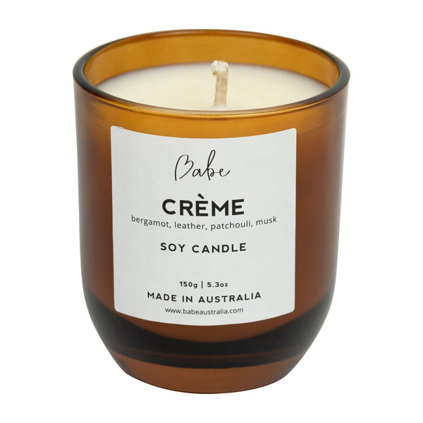 Babe CREME Luxury Soy Candle 30 hour