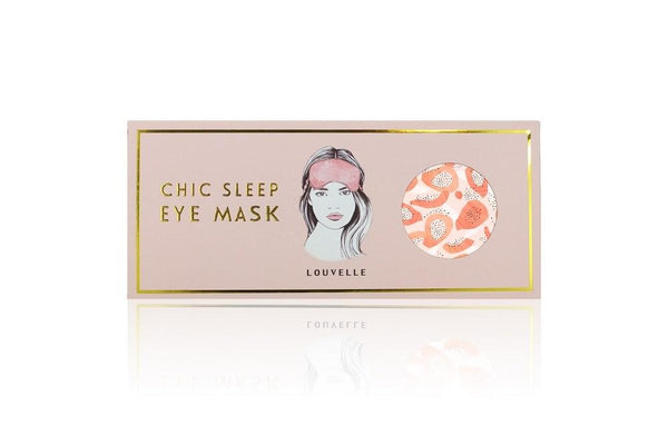 CHLOE Eye Mask PEACH PAPAYA
