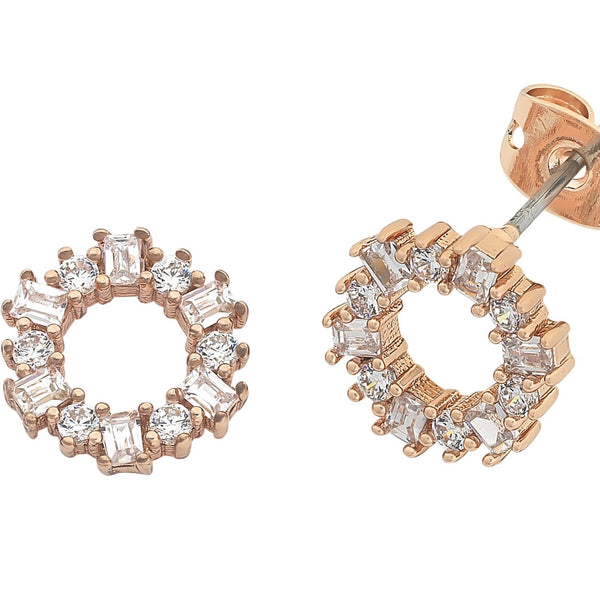 LIBERTE Anna Earrings ROSE GOLD
