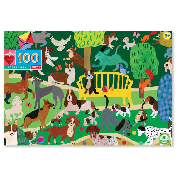 100 Pce Puzzle DOGS AT PLAY