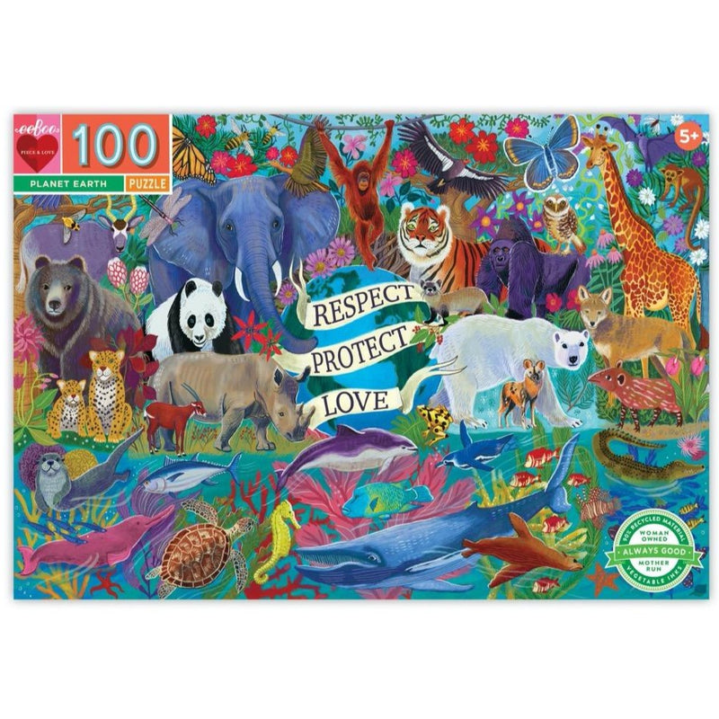 100 Piece Puzzle PLANET EARTH