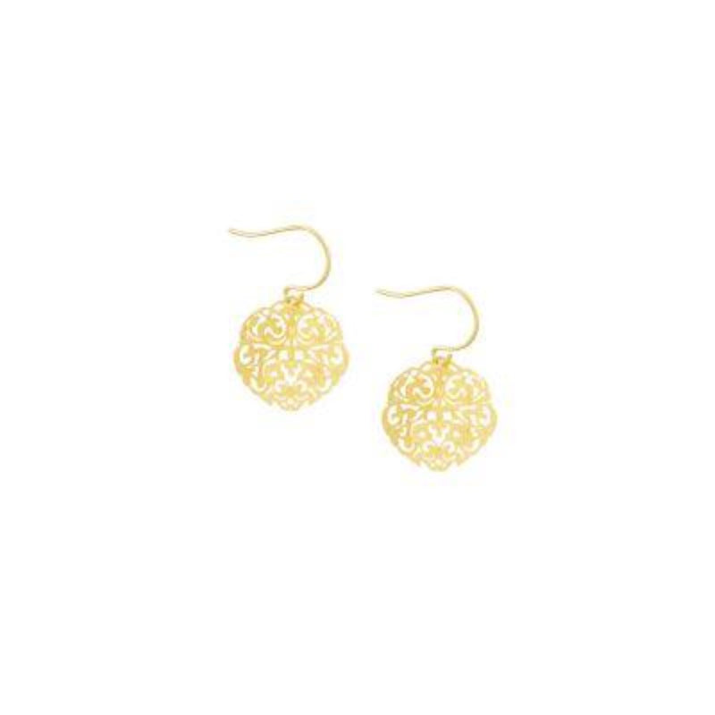Mini Filigree Earring GOLD