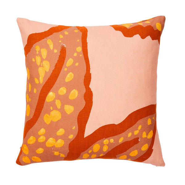 Cushion SPOTTED BEGONIA CLAY 60cm