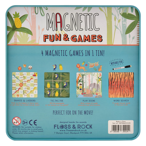 Magnetic Fun & Games JUNGLE