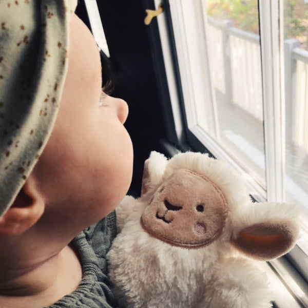 OB DESIGNS Baby Rattle LEE LAMB