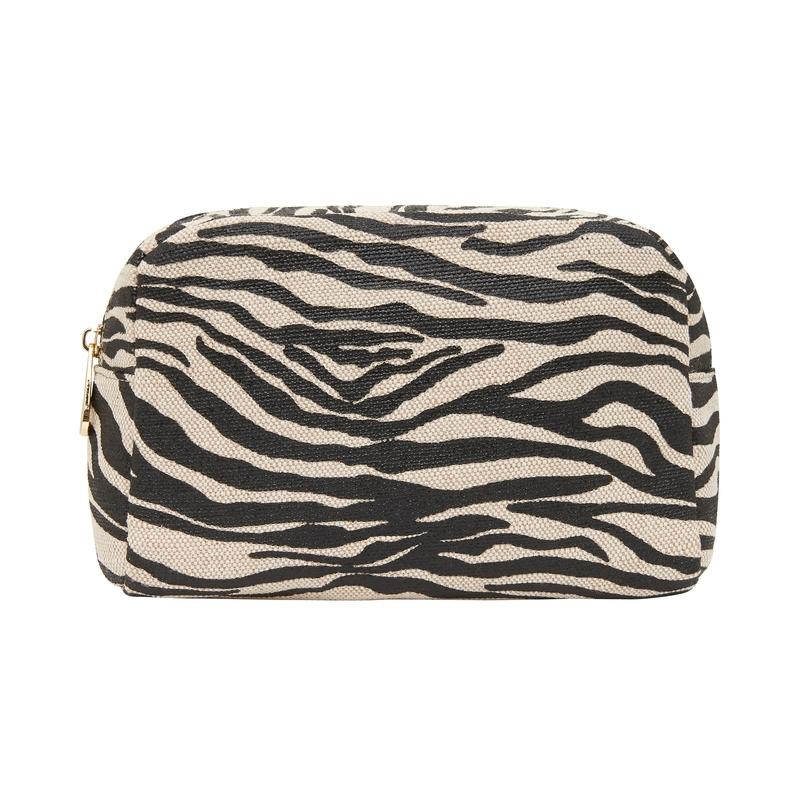 Large Cosmetics Bag BLACK ZEBRA