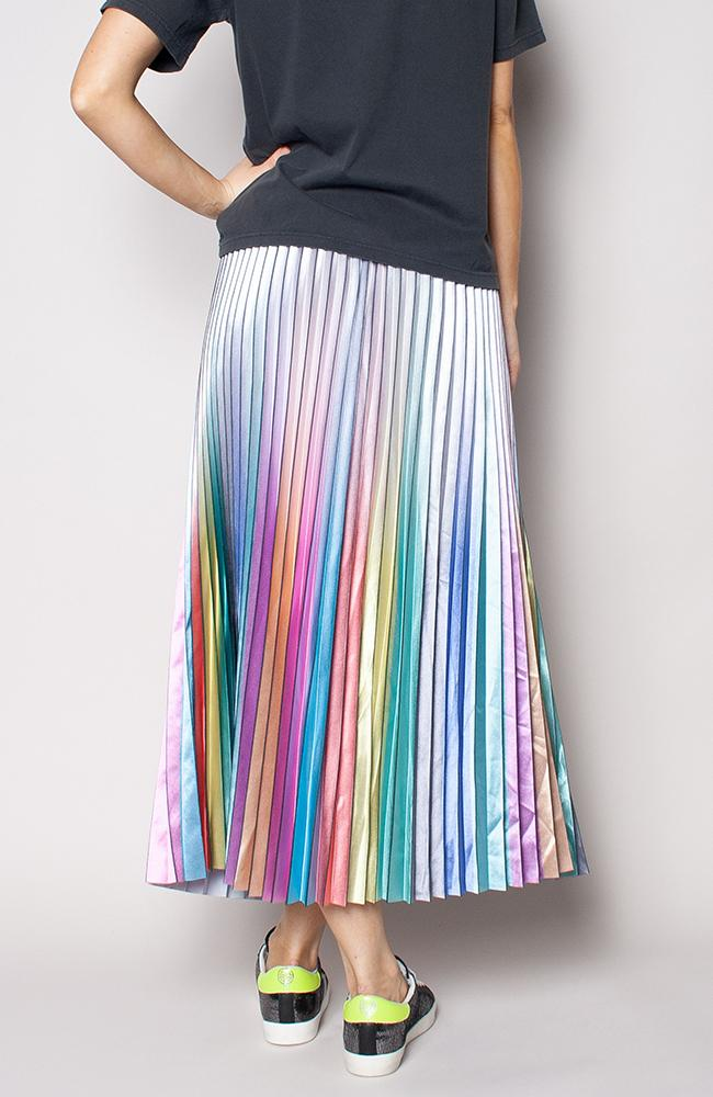 THE OTHERS Ombre Rainbow Skirt