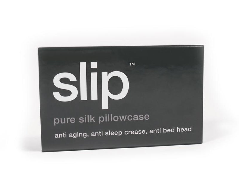 Slip Silk Pillowcase Charcoal