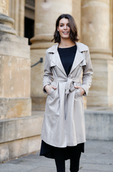 Safari Trench Coat NATURAL