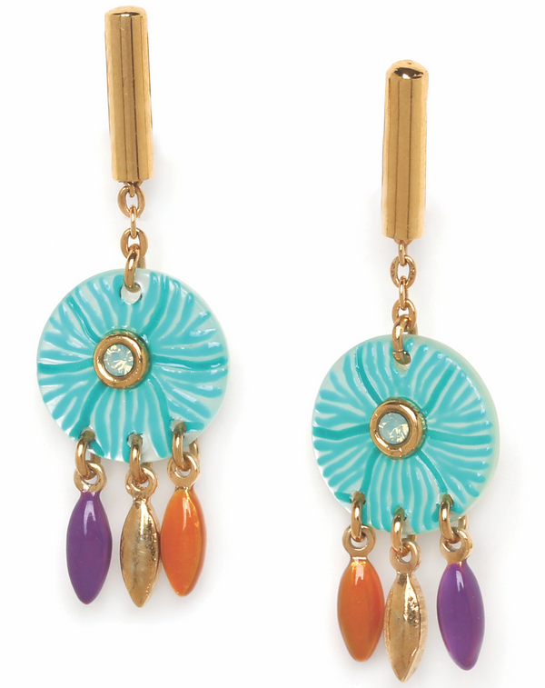 Paulette Franck Herval Earrings