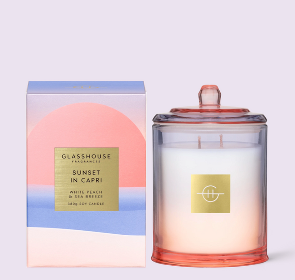 Candle SUNSET IN CAPRI 380g