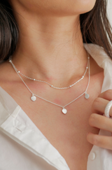 LIBERTE Novah Necklace SILVER