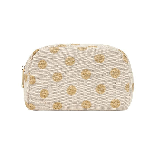 Small Cosmetics Bag GOLD SPOT