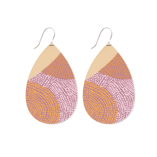 Big Tear Drop Earrings AKWEKE