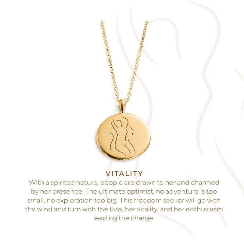 Vitality Amulet necklace STERLING SILVER