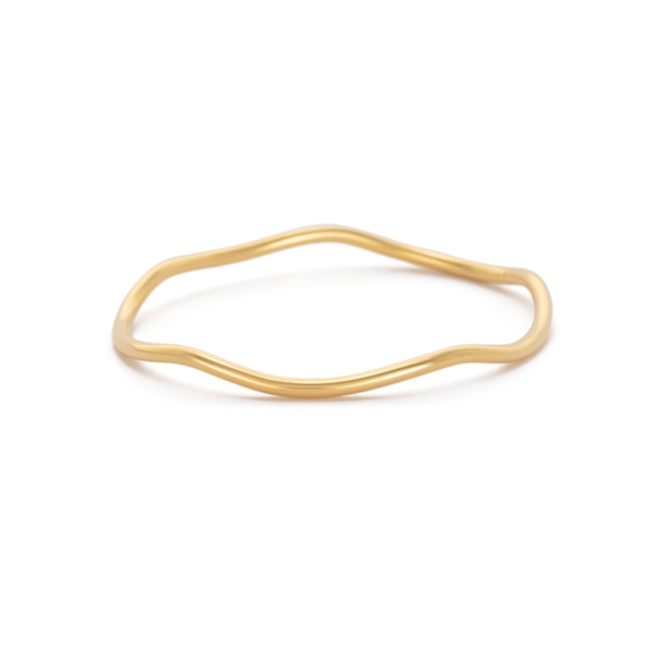 Kirstin Ash Botanica Bangle 18K GOLD PLATED