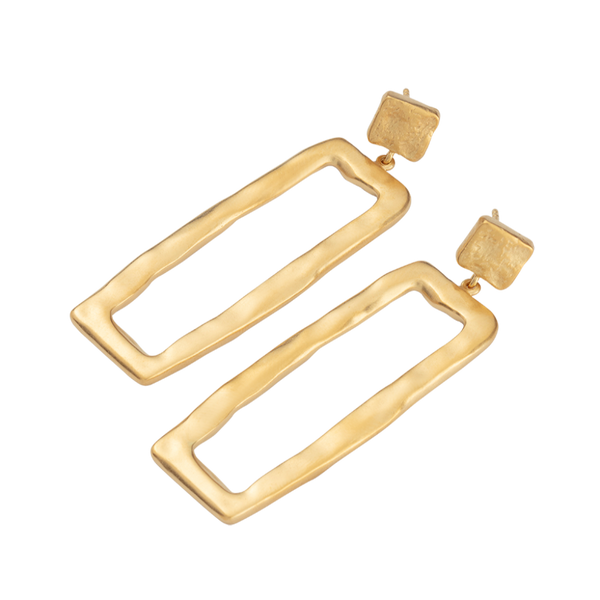Elements Earrings 18K GOLD PLATED SS