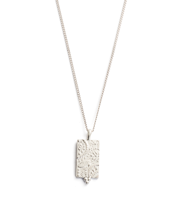 Marrakech Coin Necklace STERLING SILVER