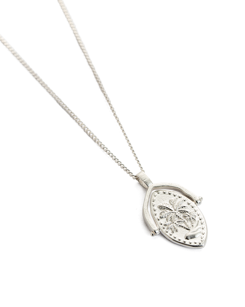Oasis Spinner Necklace STERLING SILVER