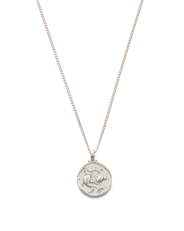 "Pisces Necklace 16-18"" STERLING SILVER"