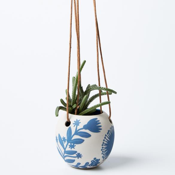 Jones & Co Hanging Planter SILICA BOTANIC