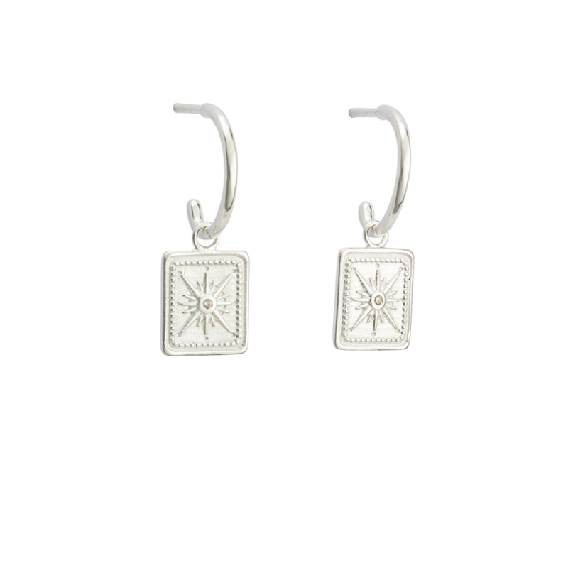 True North Hoops STERLING SILVER