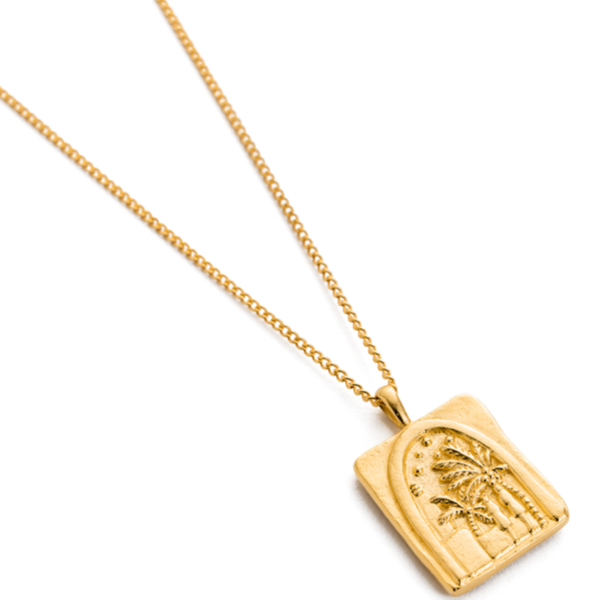 Kirstin Ash Under the Night Sky Necklace 18K GOLD
