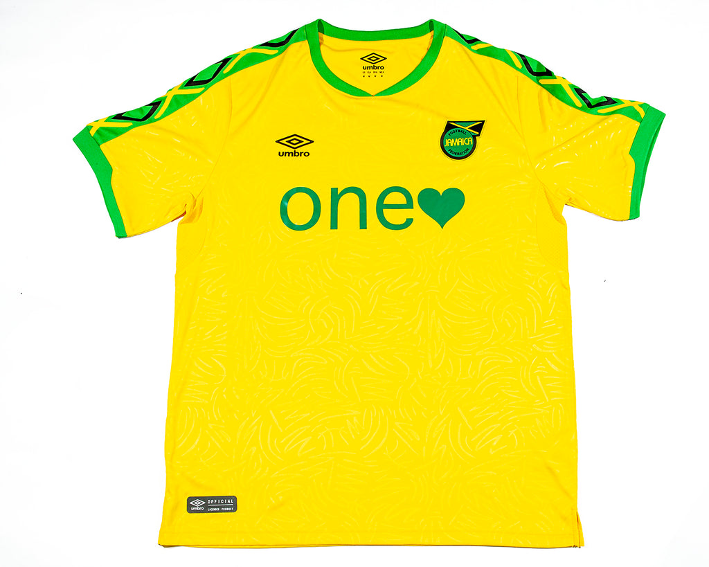 custom cheeky umbro jamaica reggae one love one heart bob marley jersey