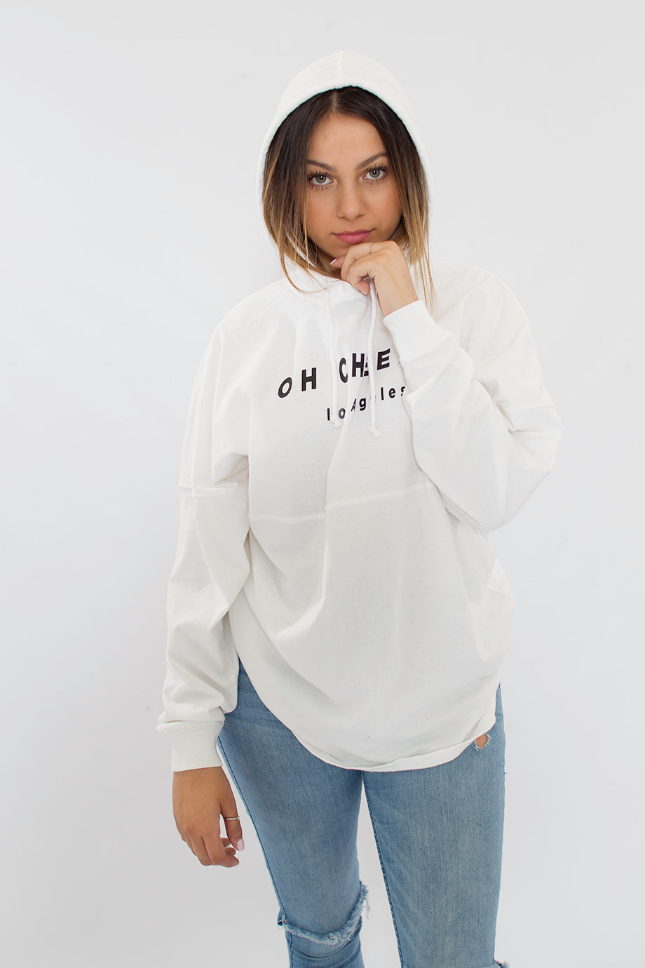cheeky hoodie soccer los angeles oversized cotton men women