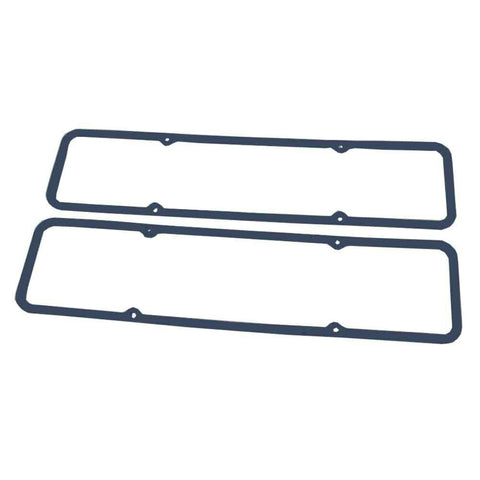 DEMOTOR Blue Rubber Valve Cover Gasket Set Steel Core for Early SBC Valve Covers