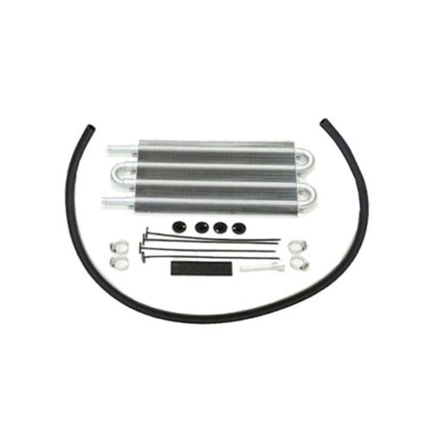 "Heavy Duty 16"" Electric Curved S Blade Radiator Cooling Fan & 12-3/4"" X 5"" X 3/4"" Transmission Oil Cooler"