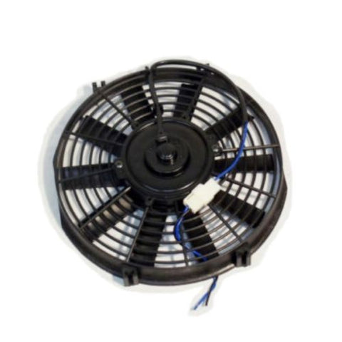 "Dual Electric 9"" straight blade reversible cooling radiator fans 12 volt 800cfm"