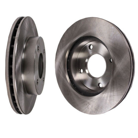 One pair of Disc Brake Rotor Front fits 02-06 Nissan Sentra
