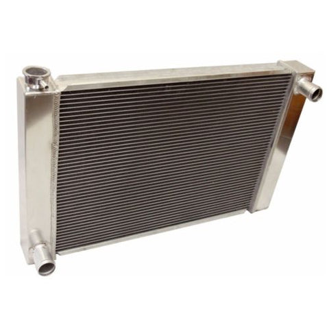 "For Ford/Mopar Fabricated Aluminum Radiator 27.5"" x 19"" X 3"" Overall"
