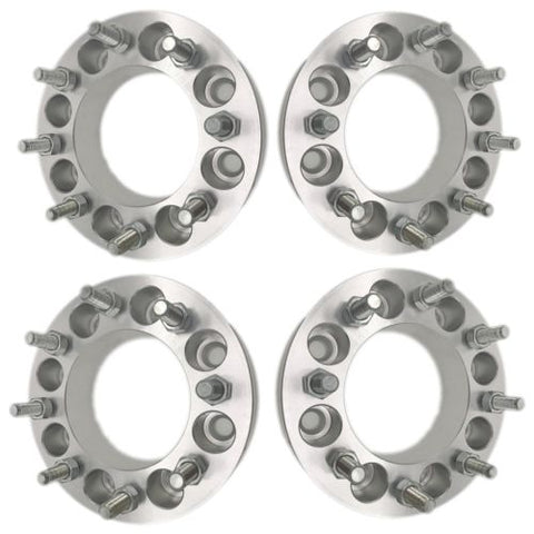 4PCS 8x6.5 Wheel Spacers | 9/16"
