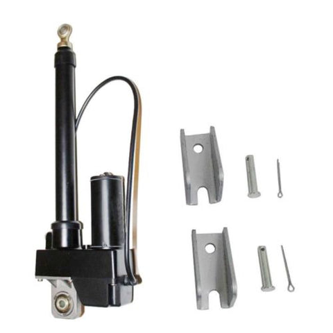 High Performance Linear Actuator 10 Inch Stroke 225lb Max Lift Output 12-Volt DC with Mounting Backets