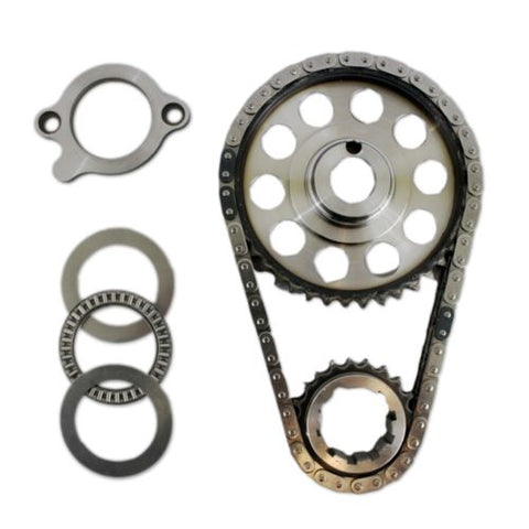 Ford SB 289 302 351 Windsor Double Roller 9 Keyway Billet Steel Timing Chain Kit