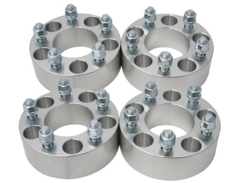 "4Pcs 2"" Wheel Spacers Adapters 5x5.5"" 9/16"" Studs Fits Dodge Ram 1500 Durango"