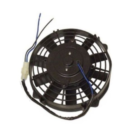 "Dual 8"" Heavy Duty Straight Blade Electric Radiator Cooling Fans &Thermotat Kit"