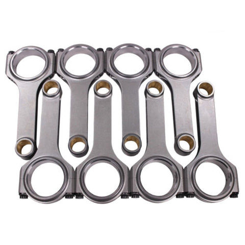 "H Beam 6.800"" 2.200"" .990"" Bronze Bush 4340 Connecting Rods For Chevy BBC 454"