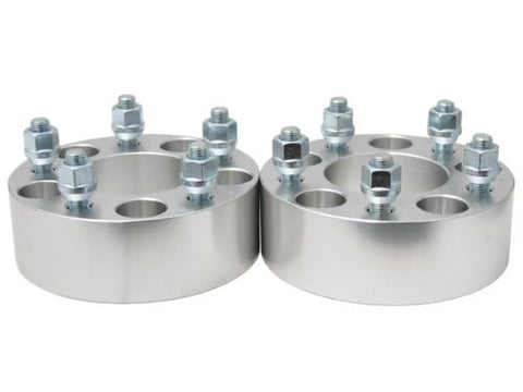 "2Pcs 2"" Wheel Spacers Adapters 5x5.5"" 9/16"" Studs Fits Dodge Ram 1500 Durango"